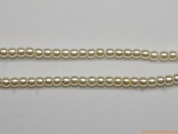 Bola perla cristal Ø2mm blanca