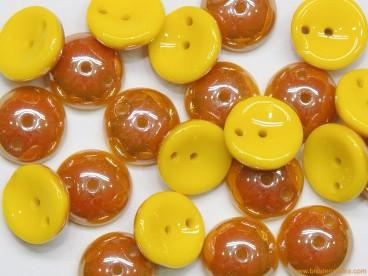 Piggy Beads 8mm amarillo-albaricoque