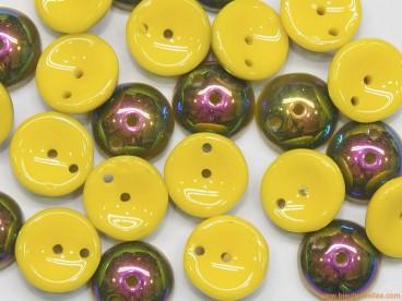 Piggy Beads 8mm amarillo-tornasol