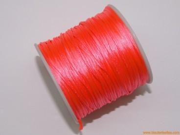 Cordón cola de ratón 1mm coral