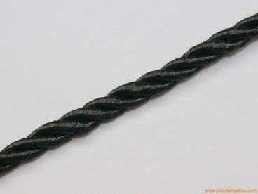 Cordón de poliester 5mm negro
