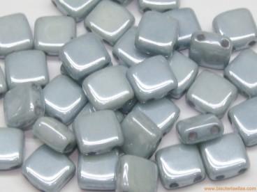 Tila checa 6mm azul cerámico