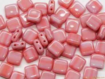 Tila checa 6mm rosa rayado