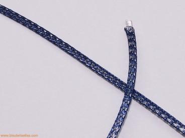 Cordón de malla Nº 1 - 2mm azul marino