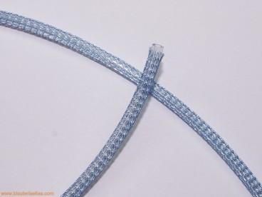 Cordón de malla Nº 2 - 4mm azul claro