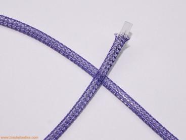 Cordón de malla Nº 2 - 4mm morado