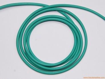 Cordón caucho macizo 2,5mm verde