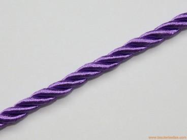Cordón de poliester 5mm morado