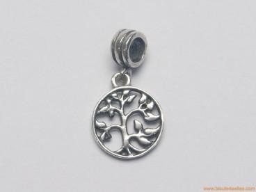 Colgante en plata para pandora árbol de la vida Ø14mm