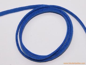Tira de ante 3mm azulón