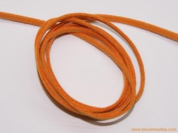 Tira de ante 3mm naranja