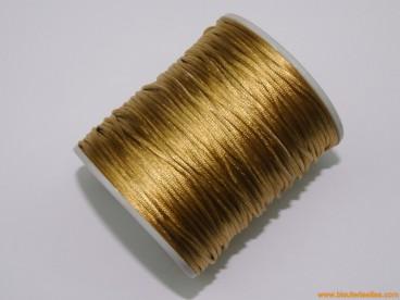 Cordón cola de ratón 1mm bronce
