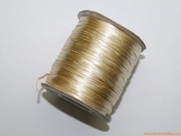 Cordón cola de ratón 1mm cava