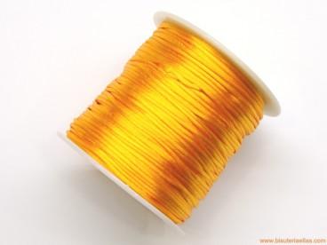 Cordón cola de ratón 1mm naranja