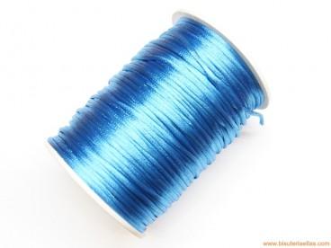Cordón cola de ratón 2mm azul cielo (100 m.)