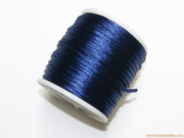 Cordón cola de ratón 2mm azul marino (50 m.)