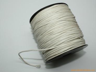 Cordón encerado 1,5mm blanco (100 m.)