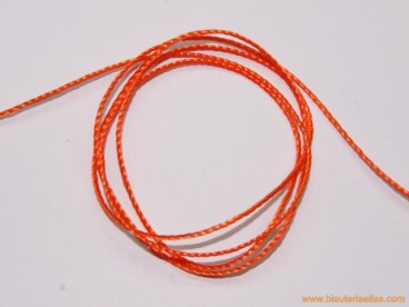 Hilo macramé 1mm naranja