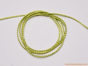 Hilo macramé 1mm verde