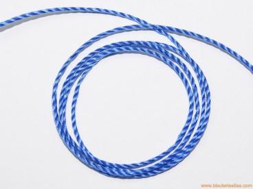 Hilo macramé 1,5mm azulón