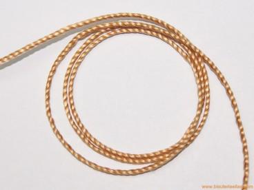 Hilo macramé 1,5mm marrón nuez