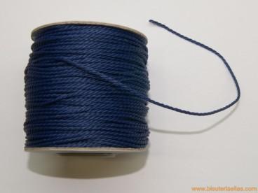 Cordón de poliester 1,5mm azul marino