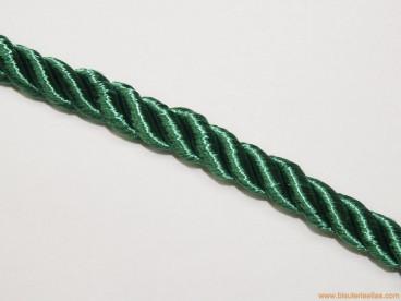 Cordón de poliester 8mm verde