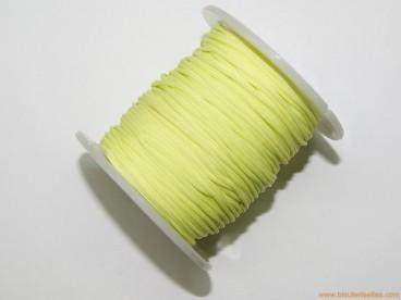 Cordón trenzado rayón 1,5mm pistacho