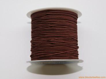 Elástico 1mm marrón