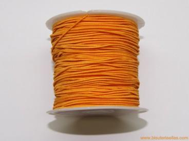 Elástico 1mm naranja
