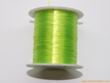 Silicona filamento plano verde pistacho
