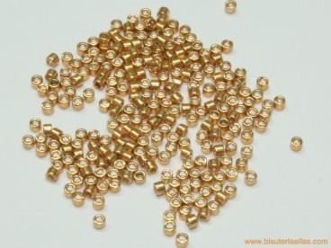 Miyuki Delica 11/0 Galvanized Yellow Gold