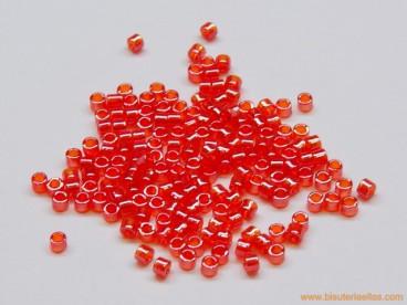 Rocalla Toho cilindro 11/0 rojo brillante