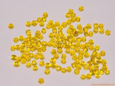 Rocalla 9/0 Amarilla Transparente
