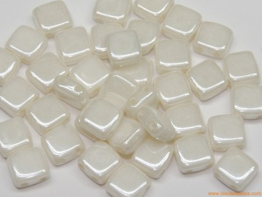 Tila checa 6mm blanco cerámico