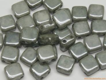 Tila checa 6mm gris cerámico